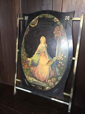 Antique Panel / Screening Decoration / Fire Screen ?    #294