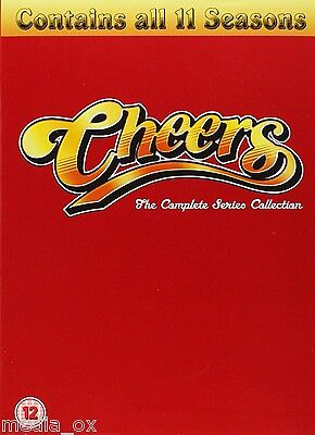 Cheers - The Complete TV Series (Season) 1-11 Collection Box Set   New   DVD