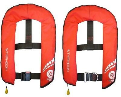 Typhoon Red 150 Lifejacket Auto or Manual Options Available
