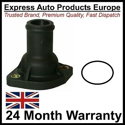 Thermostat Housing Water Flange Cylinder Head & O-ring for VW 026121144A