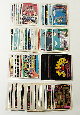 Over (70) 1982 1989 Topps Donkey Kong & Nintendo Game Pack Cards (unscratched)