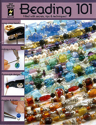 Beading and Jewelry Making Craft Book Beading 101 Bead Stringing Designs
