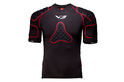 VX-3 Mens Pro Body Armour Top Accessory Sports Training Workout
