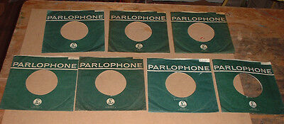original 1 x PARLOPHONE RECORDS company sleeve SCOOPED TOP The Beatles