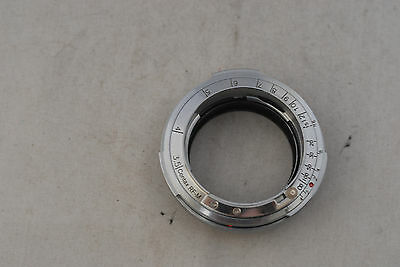 New! Contax Rangefinder Lens to Leica M/ M9/M8 Adapter Ring, S&W USA