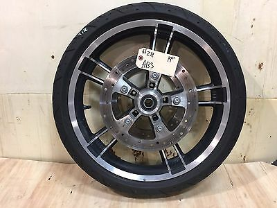 """Harley-Davidson 2009-2017 19"""" Enforcer Front Wheel, Tire, Rotors with ABS   #212"""