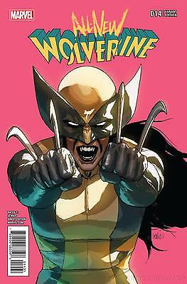 All New Wolverine #14 Leinil Francis Yu 1:25 Variant Marvel 2016