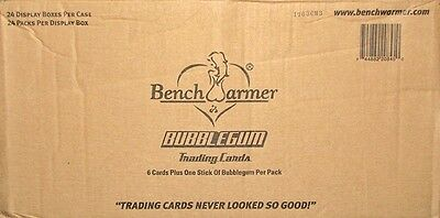 2013 Benchwarmer Bubblegum Hobby 24-Box Case