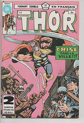 THOR #121/122 french comic français EDITIONS HERITAGE