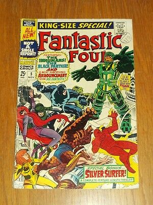 Fantastic Four Annual #5 Vg (4.0) Marvel Comics Silver Surfer November 1967