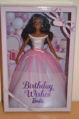 2017 Pink Label African American BIRTHDAY WISHES Barbie - BRAND NEW RELEASE