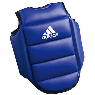Adidas Reversible Boxing Chest Guard - XL - Red/Blue