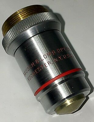 BAUSCH & LOMB MICROSCOPE OBJECTIVE  97X OIL 18mm 1.30 N.A. ~FREE FAST SHIPPING