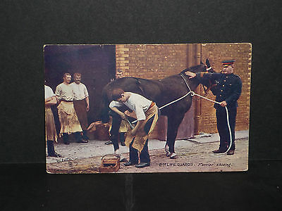 Military -2nd Life Guards = farrier shoeing - 1911