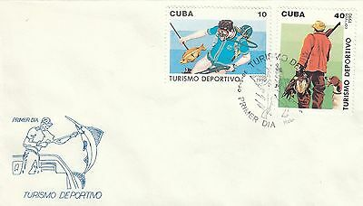 (40768) CLEARANCE FDC Sports Tourism 1990