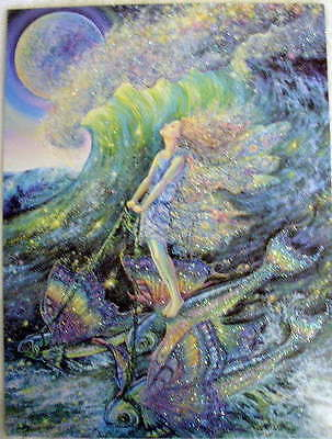 Leanin Tree Surfer Dream Inspirational Card Josephine Wall Fairy Fantasy Magical