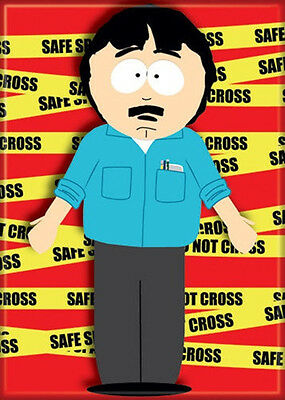 South Park Randy Marsh In Front of Safe Space Tape Refrigerator Magnet, NEW