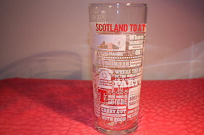 TENNENTS LAGER GLASS TENNENTS WELLPARK BREWERY GLASS Tennent's Beer To a T.