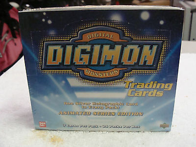 SEALED UNOPENED 1999 Upper Deck Bandai Digimon Trading Cards Box