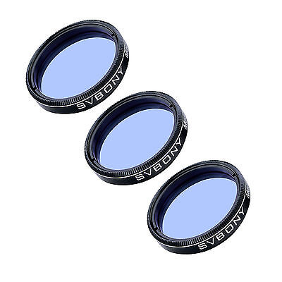 """3X SVBONY 1.25"""" Astronomy Telescope Eyepiece Moon Filter for Observing Planets"""