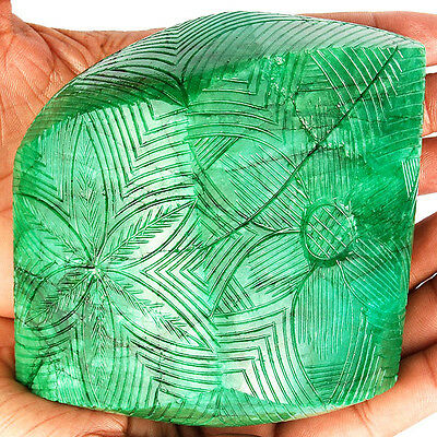 6515 Cts Certified Biggest Museum Size Finest Green Natural Brazilian Emerald