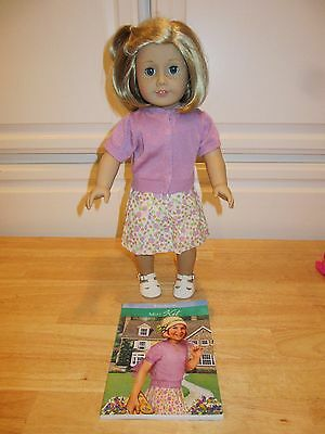 American Girl Kit Doll with clothes Outfit and Book