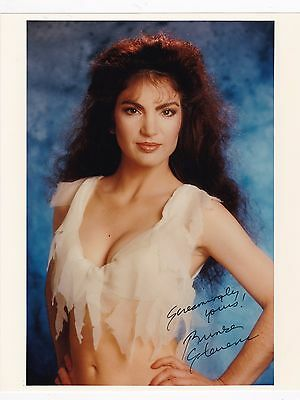 "Brinke Stevens Scream Queen B Film Actress Autographed 8"" x 10"" Photo W/COA"