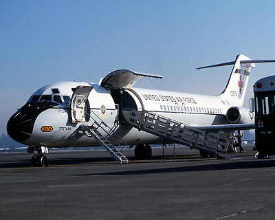 1984 MR 375th Aeromedical Airlift Wing C-9 Nightingale Fairchild AFB 8x10 Photo