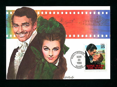 Sc. 2446 CTC Gone with the Wind FDC - Fleetwood Maxi Cards