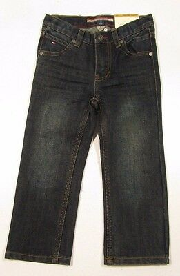"""Tommy Hilfiger Boys Freedom """"Heritage"""" Relaxed Fit Dark Wash Jeans"""