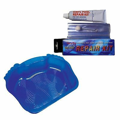 lazy inflatable spa SWIMMING POOL REPAIR KIT And Foot Bath Keep The Grit Out!