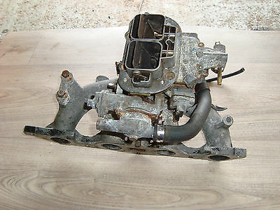 Ford Capri mk3 2.0 weber carb 32/35 and inlet manifold for pinto.