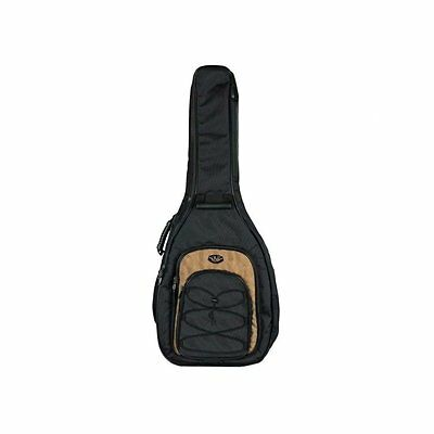 Acoustic Guitar Soft Case For Western Dreadnought Gig Bag By Cnb
