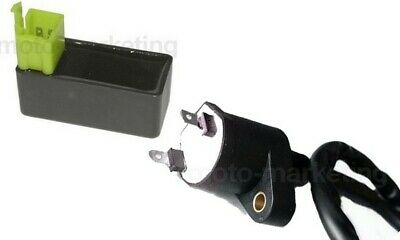 CDI UNIT + IGNITION COIL for PEUGEOT SPEEDFIGHT 3 III JET FORCE C-TECH 50