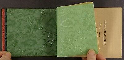 Circa 1900 Gloria Embossed Design Window Shades Sample Book