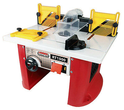 Lumberjack RT1500 1500W Router Table with Integrated motor