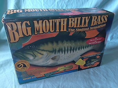Retro Big Mouth Billy Bass Singing Fish Boxed Vintage