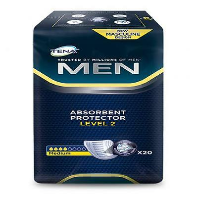 TENA MEN Level 2 Einlagen 20 St PZN 10004884