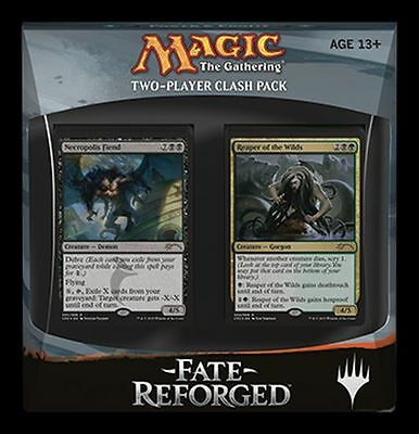 Sealed Fate Reforged Clash Pack MTG Fate Reforged  NEW -Kid Icarus-