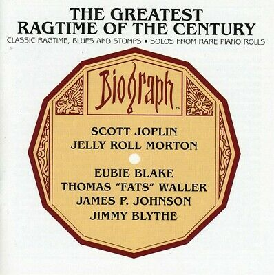 Various Artists - Greatest Ragtime Of The Century: Classic Ragtime, Blues and St