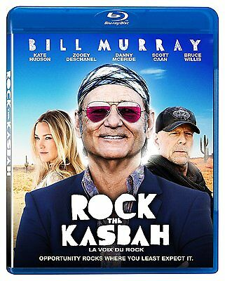 Rock The Kasbah (Blu-ray) Bill Murray, Bruce Willis, Kate Hudson NEW