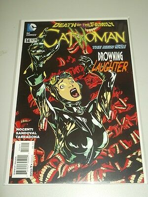 Catwoman #14 Dc Comics New 52 Nm (9.4)