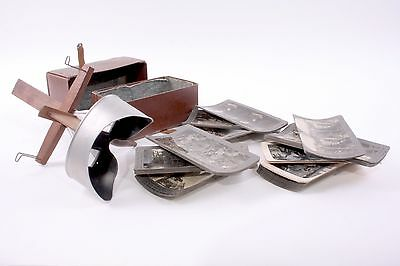 Underwood & Underwood Antique Stereoscope 3D Stereo Viewer w/ 44 Cards