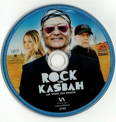 Rock The Kasbah (Blu-ray disc) Bill Murray, Bruce Willis, Kate Hudson