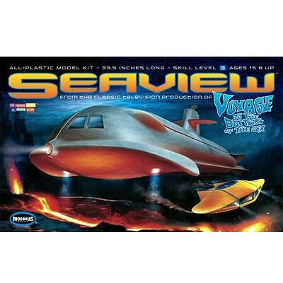 Voyage To The Bottom Of The Sea 'Seaview Submarine Model Kit MMK707' - New