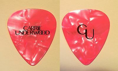 Carrie Underwood Pink Pearl Guitar Pick - 2016 Storyteller Tour
