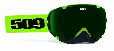 509 Aviator Goggles Lime Green Snowmobile Snow Snowmobiling Goggle 2015