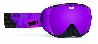 509 Aviator Goggles Frost Purple Snowmobile Snow Snowmobiling Goggle 2015
