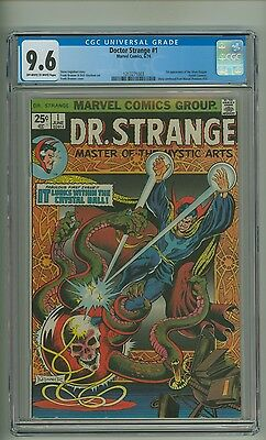 Doctor Strange #1 (CGC 9.6) OW/W pages; 1st app. Silver Dagger; 1974 (c#11746)