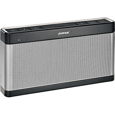 Bose SoundLink® Bluetooth Speaker III - Silver Electronic NEW